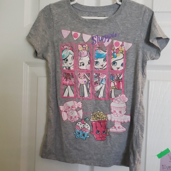 Shopkins Other - Shopkins tee shirt 7/8